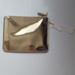 Gold Reflective Mirror Pouch